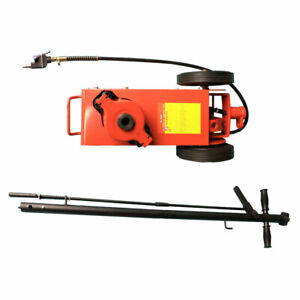 22 Ton Air Hydraulic Floor Jack Service Repair Truck Mechanic Tire Tool Red