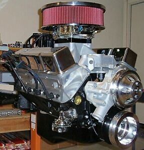 Chevy 400 520 Horsepower Complete Crate Engine Pro Built New 327 350 383