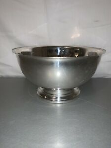 Towle Silver 8 Footed Bowl Vintage