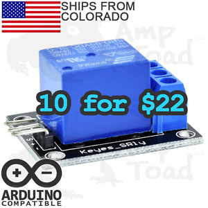 10 X 22 Single Channel Switch Relay Module For Arduino Pi Ttl