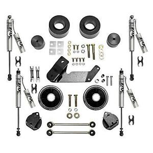 Rubicon Express 2 5 Inch Spacer Lift Kit With Fox Performance Resi Shocks