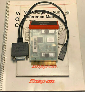 Snap On Volkswagen Audi Cartridge Thru 2001 For Mt2500 Scanner W Vw 1 Adapter