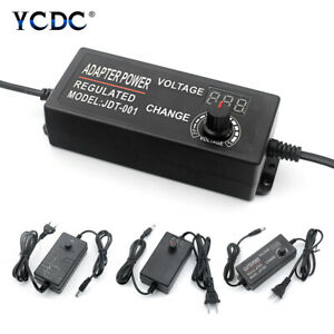 Power Supply Multi voltage Dc 1v To 36v Adjustable Adapter Chargers Ac 100 240v