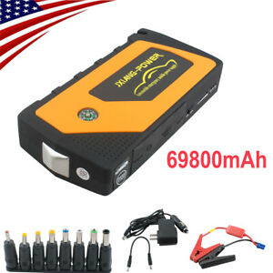 Battery Jump Starter 600a Peak Portable Car Suv Charger Booster Jumper Cables Ce