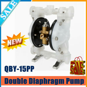 Qby 15pp Membrane Double Diaphragm Pump Air operated Cast Iron aluminum stainles
