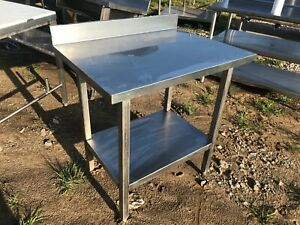 Heavy Duty 33 X 25 5 Commercial Stainless Steel Prep Work Table W Bottom Shelf