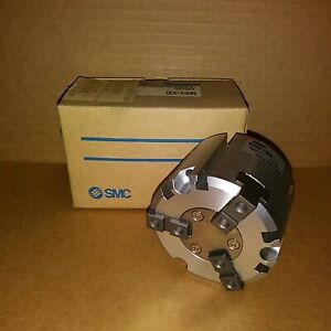 Smc Mhs3 50d Pneumatic Parallel Gripper New In Box