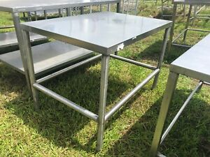 Heavy Duty 42 X 30 Commercial Stainless Steel Prep Table Low Profile Edgeless