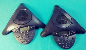 Lot Of 2 Cisco Ip Conference Station Model 7936 Used