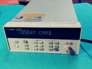 Agilent 34970a Data Acquisition Switch Unit No Cards And W power Cord