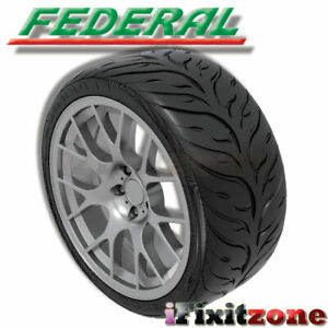 Federal 595rs Rr 205 50zr15 89w Uhp Extreme Performance Racing Summer Tire