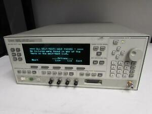Agilent 83623b Synthesized Sweep Signal Generator 10mhz To 20ghz Opt None