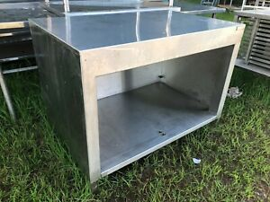 Heavy Duty 48 X 30 Commercial Stainless Steel Prep Work Table Food Cabinet