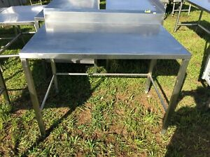 Heavy Duty 4 X 30 Commercial Stainless Steel Prep Food Kitchen Work Table Nsf