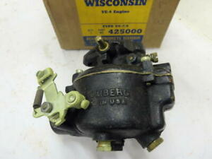 Vintage Wisconsin Ve 4 Engine Uc 7 8 Stromberg Carburetor 425000