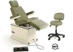 Hill Ha90p Podiatry Medical Chair With Power Elevation Back And Tilt Refurbi