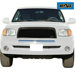 Fits 2003 2006 Toyota Tundra Mesh Grille Black Stainless Steel Replacement