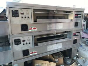 Pizza Oven Middleby Marshall Ps570g Double Stacked