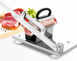 Manual Frozen Meat Slicer Cutter Beef Mutton Sheet Food Cutting Machine Kitchen