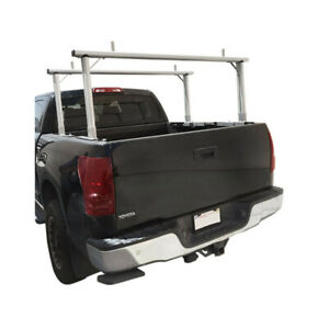 Aluminum Truck Rack Adjustable Universal Pick Up Truck Ladder Lumber Contractor