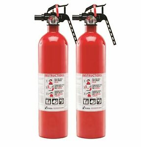 2 Pack Kidde Fire Extinguisher Rated 1a10bc Rust Resistant Multipurpose 2 5lb