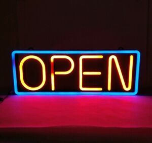 Large Multi speed Flashing Led Open Sign With Wireless Remote Control