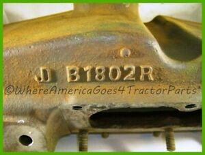 B1802r Ab2824r John Deere B Upper Radiator Tank No Broken Bolts Or Studs Usa