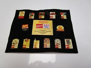 Coca-Cola Olympics Pin Set From Summer 1992