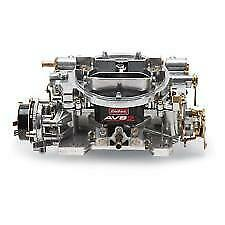 Edelbrock 1906 Avs2 650 Cfm 4 Barrel Carburetor Electric Choke New