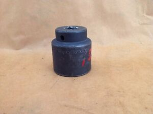 Snap On Im420h 1 5 16 6 Point 1 2 Drive Short Impact Socket Made In Usa