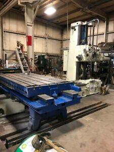 G l 340t Horizontal Boring Drilling And Milling Machine