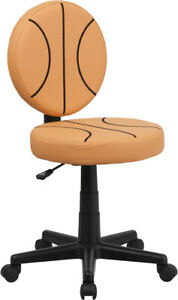 Basketball Design Task Office Chair Kids Or Adults Office Desk Chair