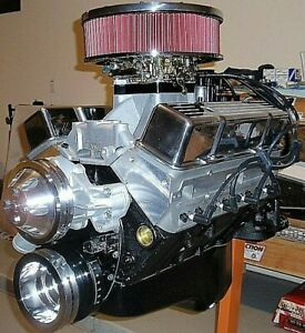 Chevy 400 485 Horse Complete Crate Engine Pro Built 327 350 383 New