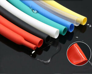 4 40mm Heat Shrink Tube 4 1 Shrinkable Wire Cable Sleeve Wraps Many Sizes