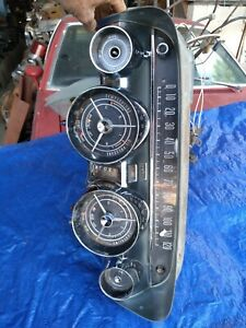 1959 Buick Dash Instrument Gauge Cluster Wiring Harness Vent Cables Speedometer