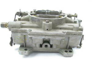 Used Core 2506s core1 Carter 4 bbl Afb Carburetor 1957 1958 Pontiac 347 v8