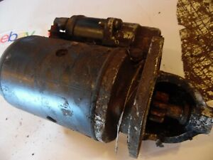 1972 Ford 3500 Farm Tractor Starter