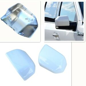 For 15 19 Ford F150 Mirror Cover Skull Cap Replacement Painted Z1 Oxford White