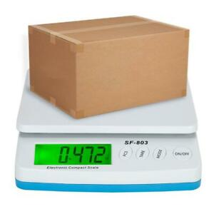 66lb X 0 1oz Digital Postal Shipping Scale 30kg Weigh Postage Counting Adapter