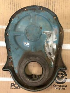 Chevy Big Block 396 402 427 454 Timing Chain Cover Oem Gm Early Style 2 6 Code