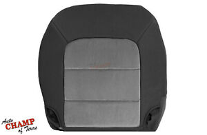2003 2006 Ford Expedition Xlt Xls Driver Side Bottom Cloth Seat Cover Gray