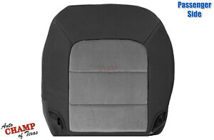 2003 2006 Ford Expedition Xlt Xls Passenger Side Bottom Cloth Seat Cover Gray