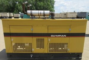 30 Kw Olympian Gm Natural Gas Or Propane Generator Genset Load Bank Tested