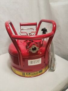 Justrite Type Ii Dot Safety Can red 16 1 2 In H 7325120
