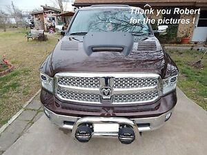 2009 2018 Dodge Ram 1500 Ssk Style Functional Ram Air Hood 90 Day Warranty