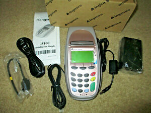 New Ingenico I5100 Pos Credit Card Machine Transaction Terminal Ethernet Dial up