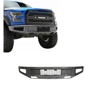 For 18 20 Ford F150 Raptor Style Conversion Painted Grey Steel Front Bumper New