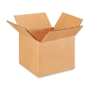 25 5x4x4 Cardboard Paper Boxes Mailing Packing Shipping Box Corrugated Carton