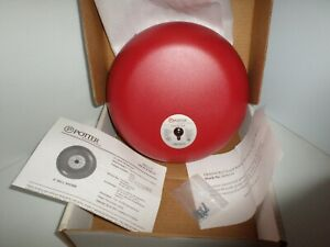 new In Box Potter Electric Signal Pba12010 Alarm Bell 1810120 Pba 12010
