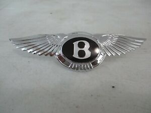 Bentley Mark Vi R Type And S1 S2 And S3 Rear Bumper Badge Condition New